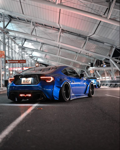Rally Backer Version 2 (10 Piece Wide Body Kit) - Toyota 86/Subaru BRZ
