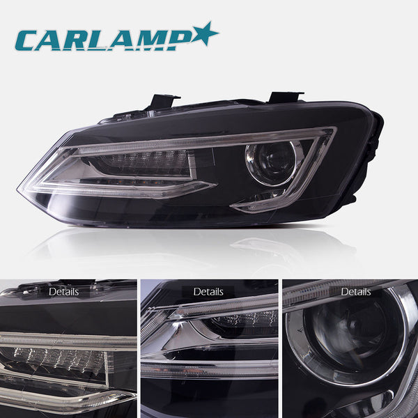 VLAND LED Headlights - 2011-2017 VW Polo MK5