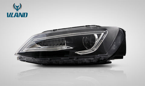VLAND LED Sequential Headlights - 2011-2018 VW Jetta