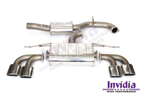 Invidia Q300 Cat Back System - VW Golf R MK7