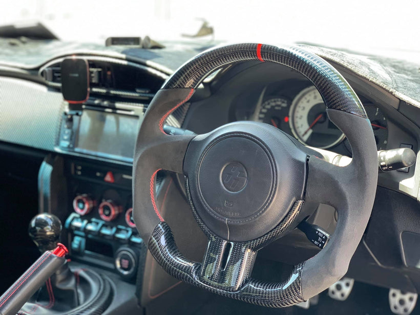 AeroSpeed Custom Steering Wheels