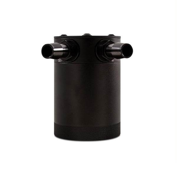 Mishimoto Compact Baffled Oil Catch Can 2-Port - Universal