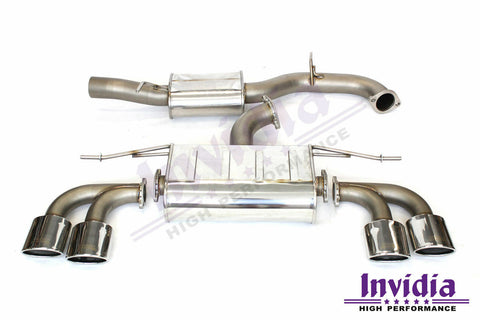 Invidia Q300 Turbo Back System - VW Golf R MK7
