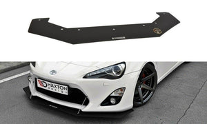 Maxton Design Front Racing Splitter RB Design - Toyota 86
