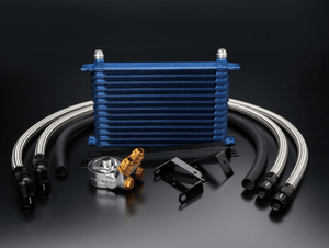 GReddy 10row Oil Cooler Kit - Toyota 86/Subaru BRZ