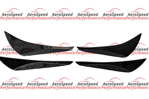 Password:JDM Style Carbon Fibre Canards - Toyota 86/Subaru BRZ