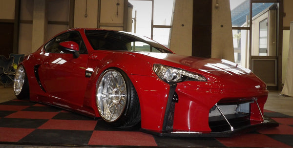 Rally Backer Version 2 Type S (16 Piece Wide Body Kit) - Toyota 86/Subaru BRZ