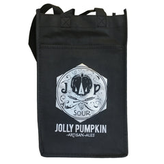 Jolly Pumpkin 4 Bottle Tote - Black
