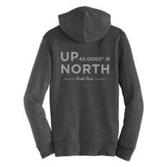 North Peak Up North Fleece Zip Hoodie - Eco Black
