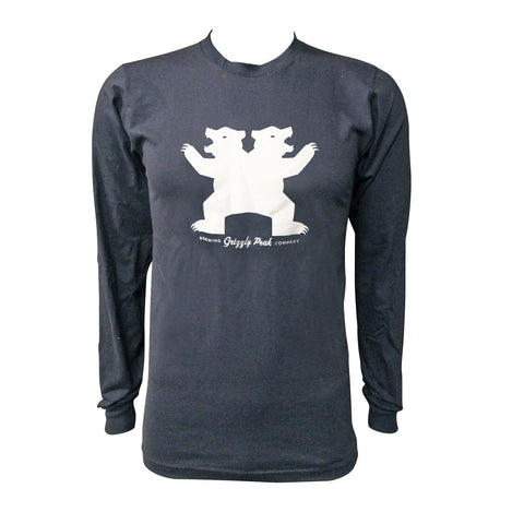 Grizzly Peak Berserker Long Sleeve T-Shirt - Navy