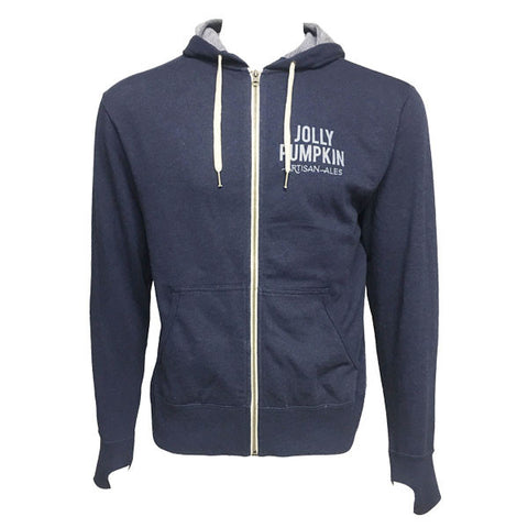 Jolly Pumpkin Michigan Hoodie - Navy Heather