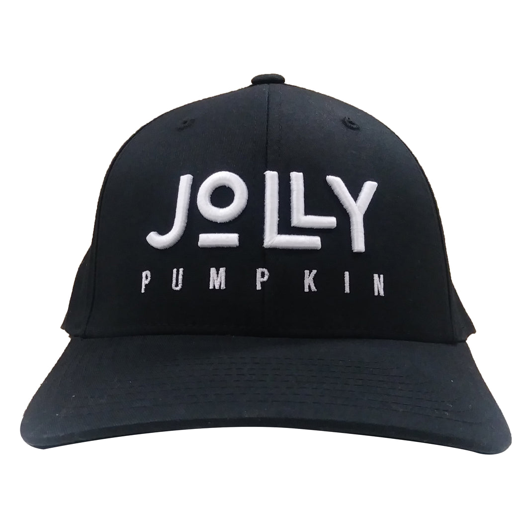 Jolly Pumpkin Black Fitted Hat