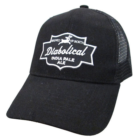 NP Diabolical Mesh Hat - Black