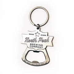 North Peak Keychain Bottle Opener