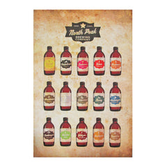 North Peak Beer Poster