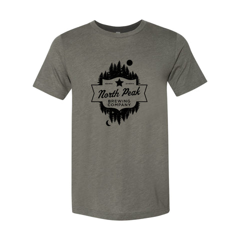 North Peak Forest Tee - Military Green