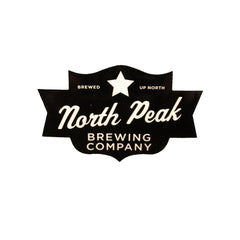North Peak Sticker