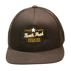 North Peak Trucker Hat - Black