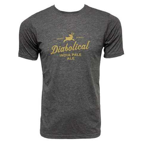 North Peak Diabolical Tee - Charcoal