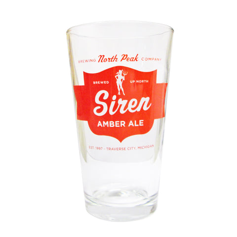 Siren Pint Glass