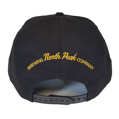 North Peak Diabolical Flat Bill hat - Black