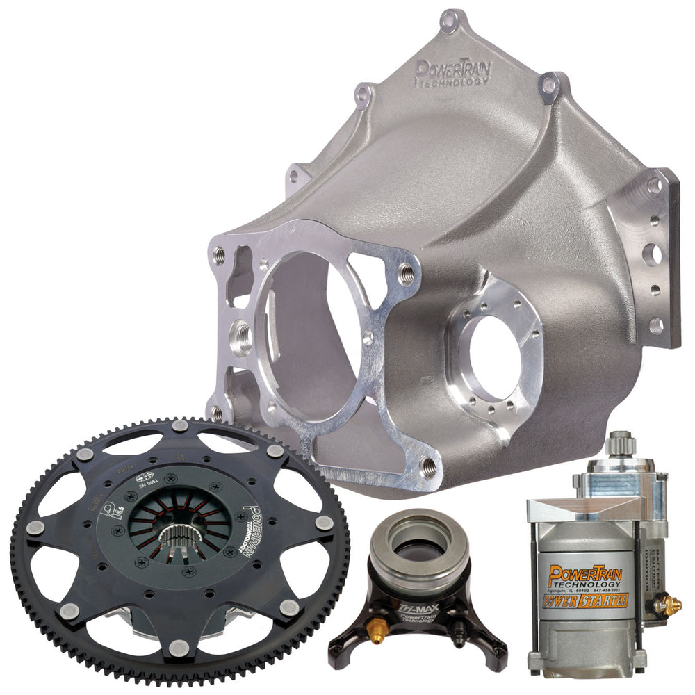 "4.5"" Racing Clutch - 3 disc  Bellhousing Kit"