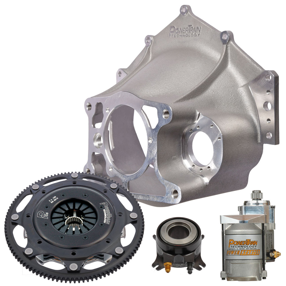 "5.5"" Racing Clutch - 2 disc  Bellhousing Kit"