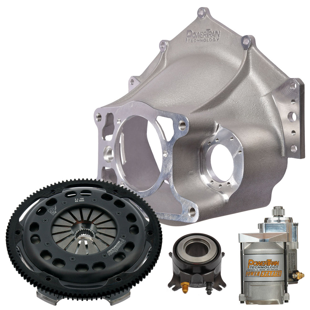 "7.25"" Racing Clutch - 3 disc  Bellhousing Kit"