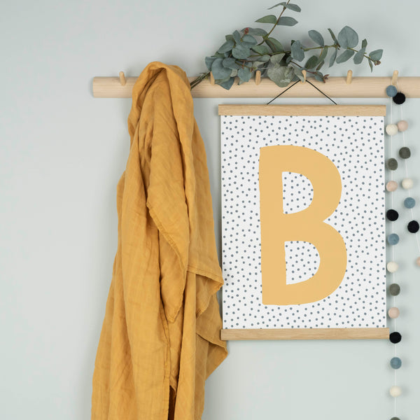Personalised Initial Print - More Colours Available!