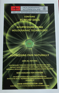 Pain Relief Acupressure Discs