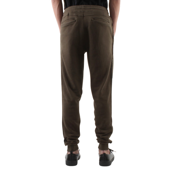 OLIVE SLIM SWEAT JOGGERS