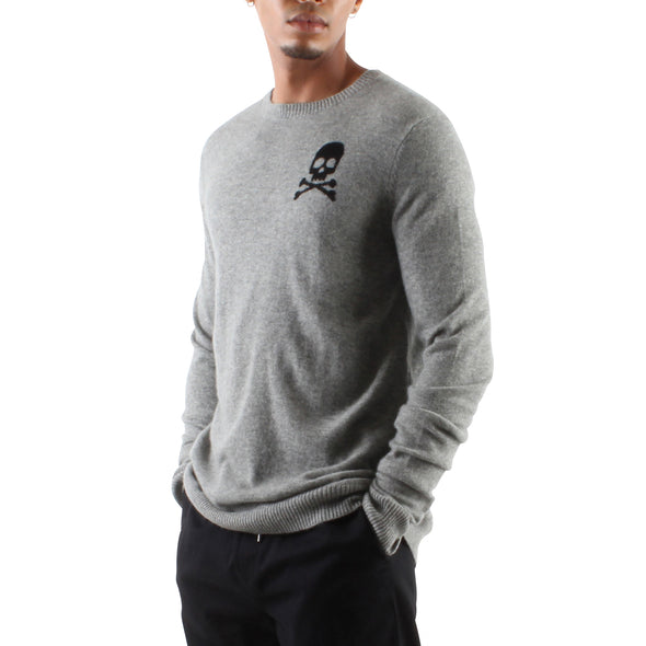 CASHMERE SKULL SWEATER