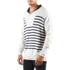 PHILLIP SHAWL STRIPE SWEATER