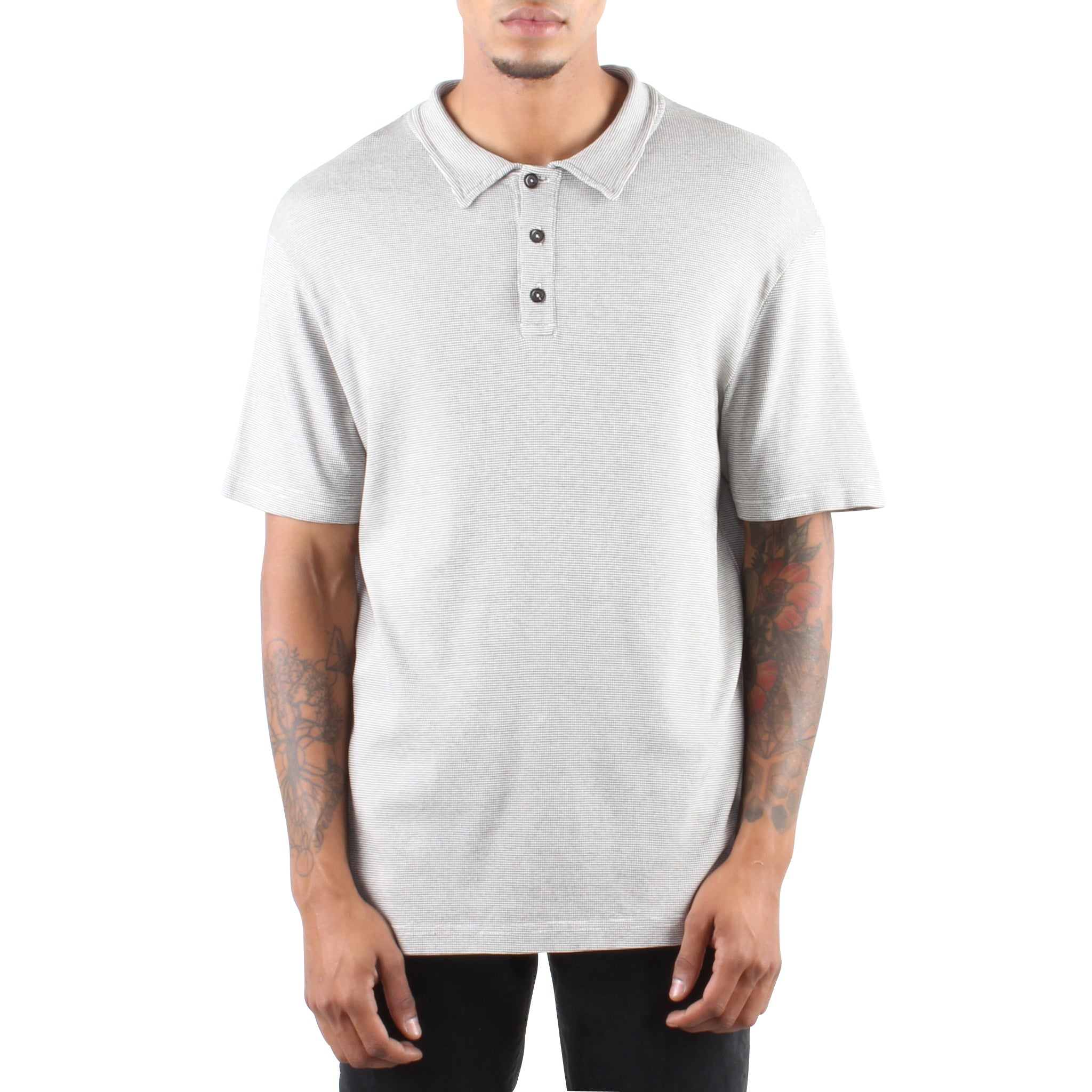 LIGHT GREY POLO