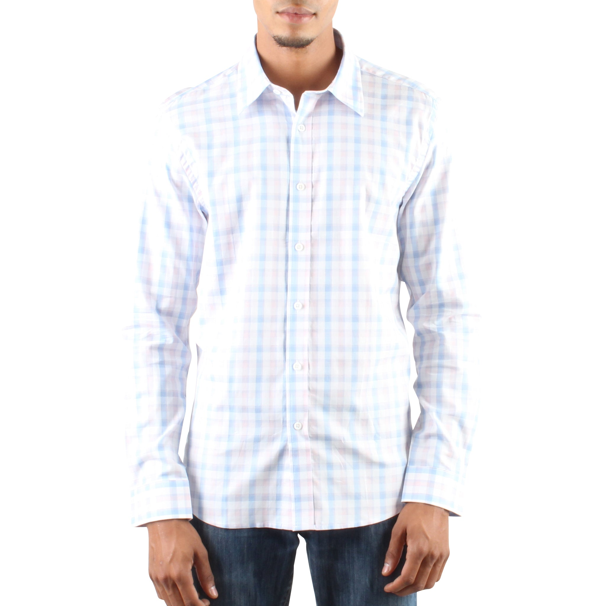 MULTI CHECK SHIRT IN PASTELS
