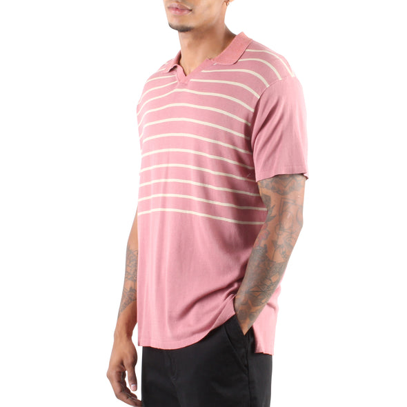 KYRIE KNIT POLO PINK