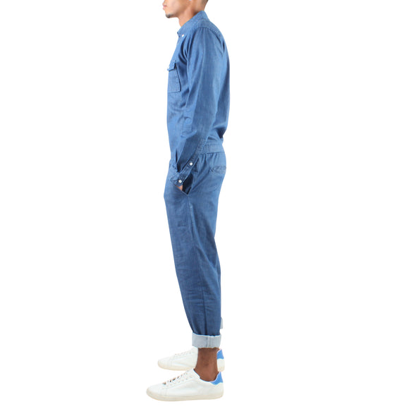 LONG SLEEVE DENIM JUMPER