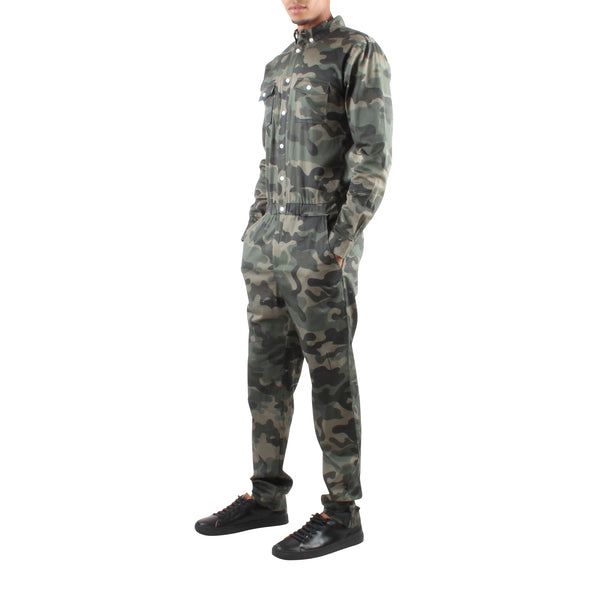 LONG SLEEVE CAMO JUMPER