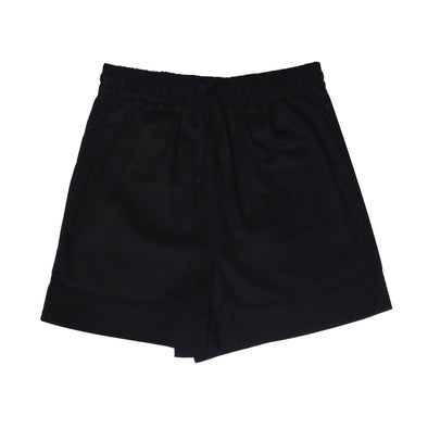 WIDE LEG SHORT - BLACK