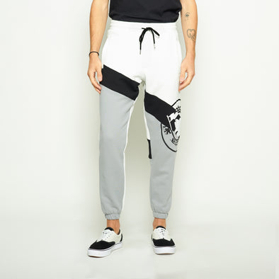 OC Colorblock Sweatpant - White/Grey