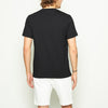 Digital Wave Tee - Black