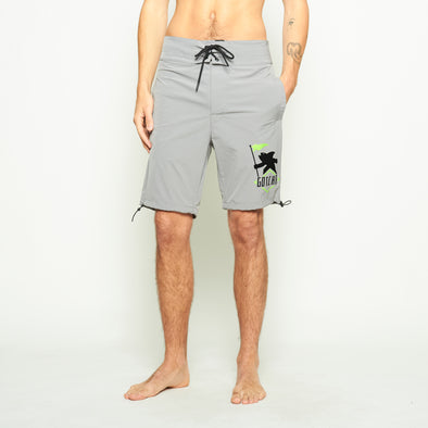 Brooks Windbreaker Shorts - Grey