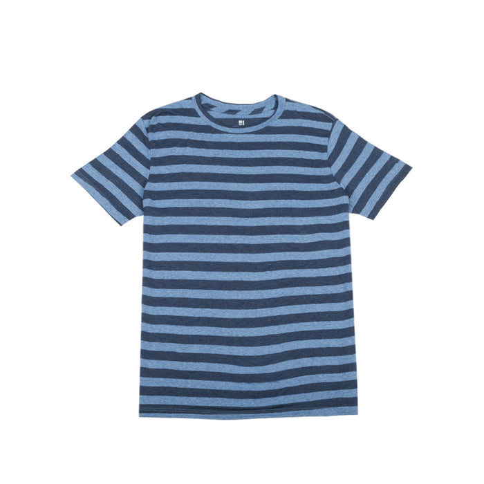 Standard Issue Basic Tee - Blue Stripe