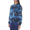 BLUE CAMO LIGHT BOMBER JACKET