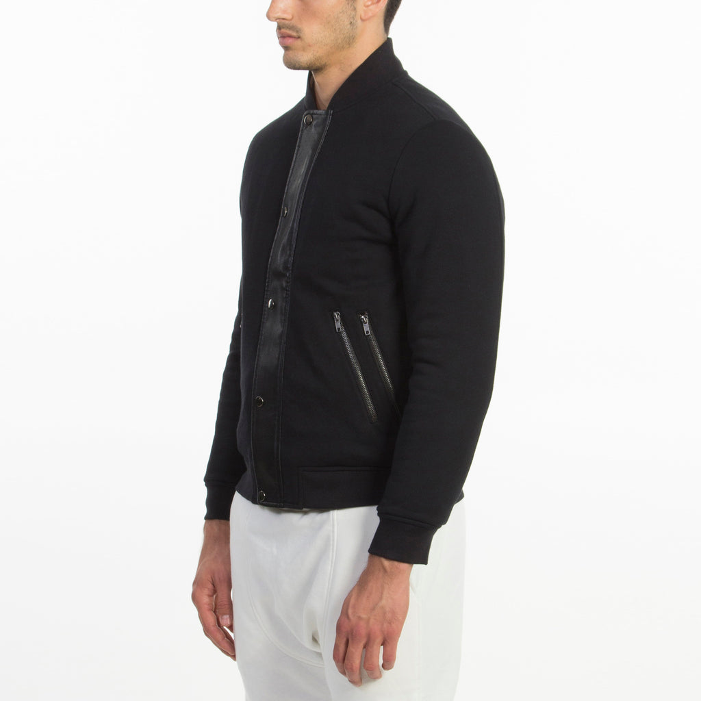 Tristan Terry Jacket Black