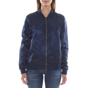 NAVY ALL-OVER DRAGON SOUVENIR JACKET
