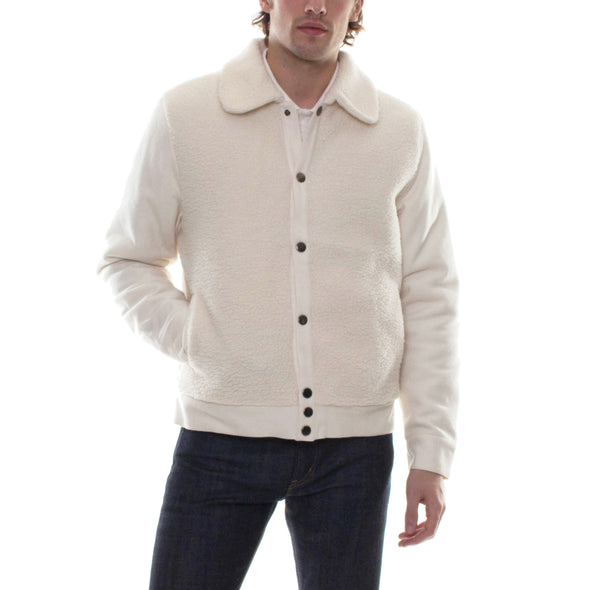 SHERPA JACKET - CREAM