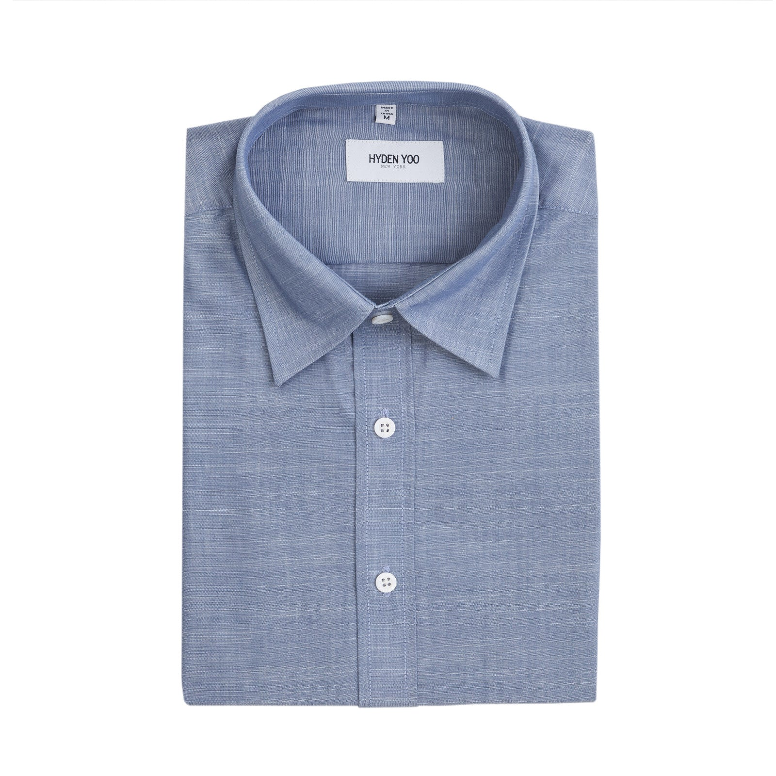 PRESTON SHIRT - NAVY CHAMBRAY