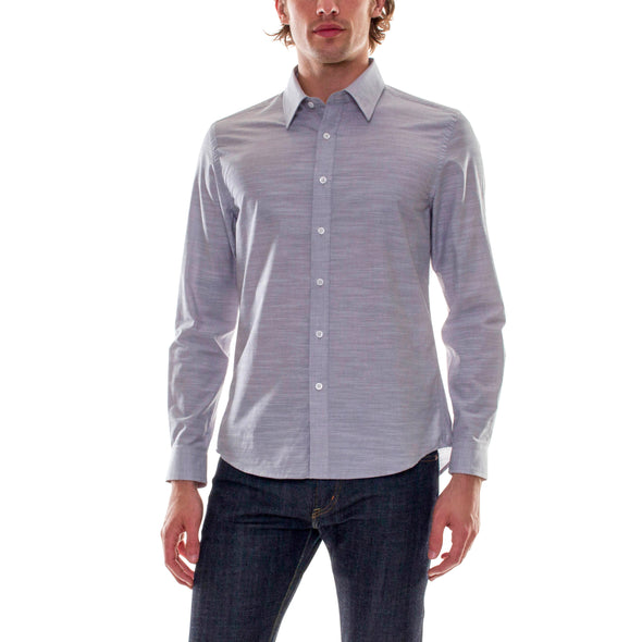 GREY DRESS SHIRT