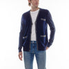 DOUBLE HEM CARDIGAN - NAVY